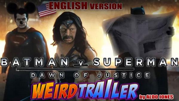 Der etwas andere Trailer zu Batman vs. Superman