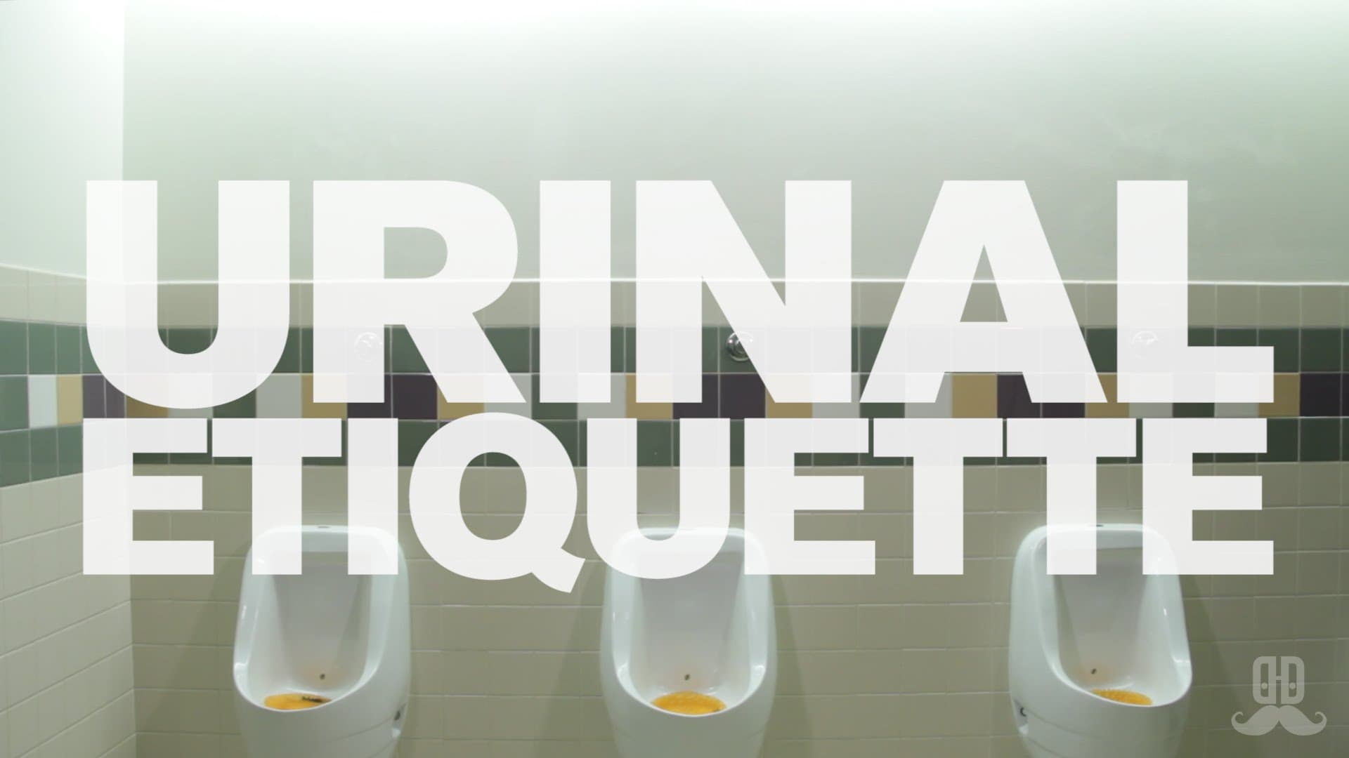 Dos and Don'ts - Urinal Etiquette