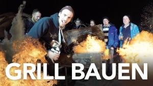 Fynn Kliemann bastelt sich einen Grill | Handwerk | Was is hier eigentlich los? | wihel.de