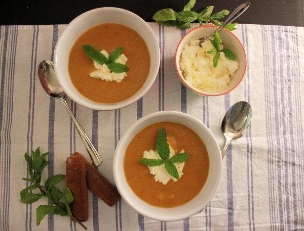 Line kocht Möhren-Lebkuchen-Suppe | Line kocht | Was is hier eigentlich los?