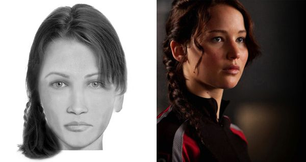 Katniss Everdeen - The Hunger Games - written by Suzanne Collins | © Brian Joseph Davis