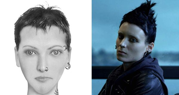 Lisbeth Salander - The Girl with the Dragon Tattoo - written by Stieg Larsson | © Brian Joseph Davis