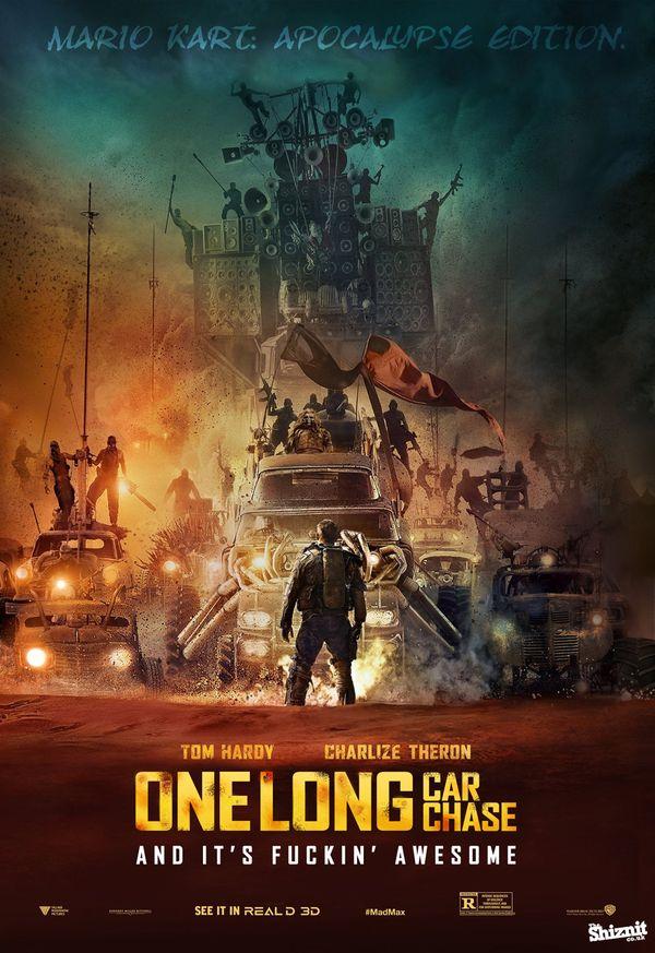 Spoilernde Filmplakate der Oscar-Nominierten 2016