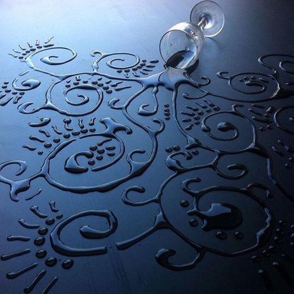 Wasser in Kunst verwandelt - von Aravis Dollmenna