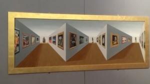 3D-Perspektiv-Kunst von Patrick Hughes | Design/Kunst | Was is hier eigentlich los? | wihel.de