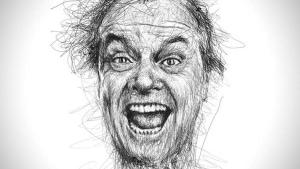 Celebrity-Portraits ohne Stiftabsetzen von Vince Low | Design/Kunst | Was is hier eigentlich los? | wihel.de