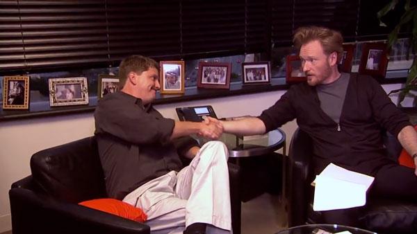 Conan O'Brien besucht seinen Zensor | Awesome | Was is hier eigentlich los?