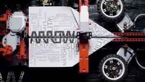 Die LEGO-Papier-Flieger-Maschine | Gadgets | Was is hier eigentlich los? | wihel.de