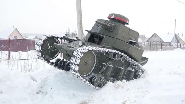 Ein Panzer Marke Eigenbau | Gadgets | Was is hier eigentlich los?