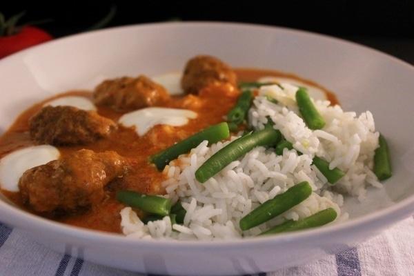 Line kocht fixes Curry mit Hackröllchen und Gemüsereis | Line kocht | Was is hier eigentlich los?