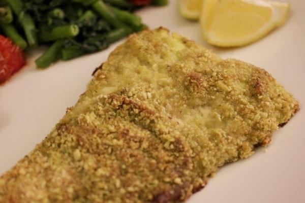 Line kocht Schellfisch in Pesto-Panade mit Rösttomaten, grünen Bohnen und Blattspinat | Line kocht | Was is hier eigentlich los?