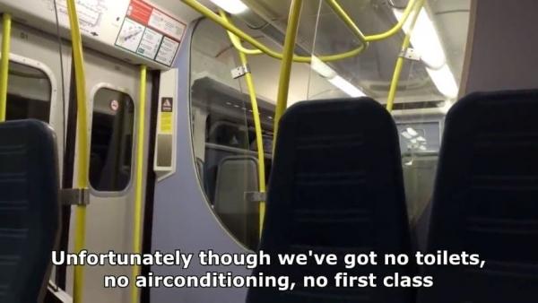 Spaß im Zug mit der richtigen Ansage