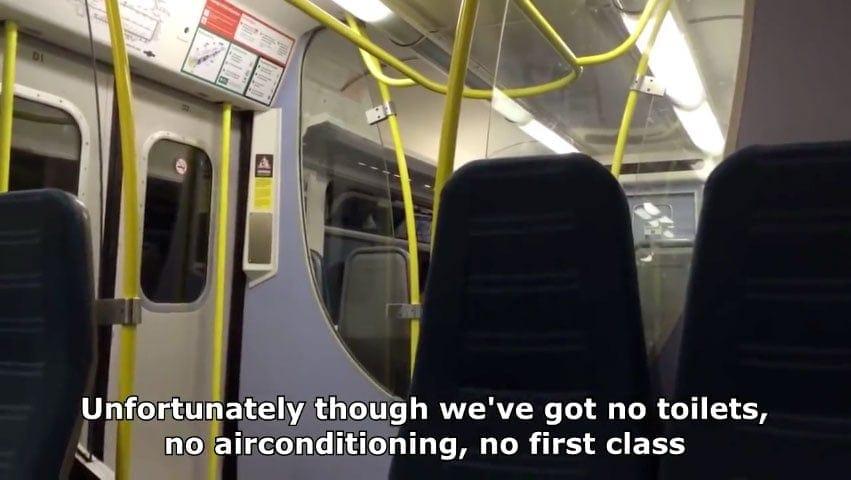 Spaß im Zug mit der richtigen Ansage | Lustiges | Was is hier eigentlich los?