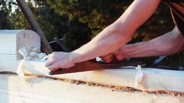 Die Geburt eines Hauses komplett aus Holz | Handwerk | Was is hier eigentlich los?