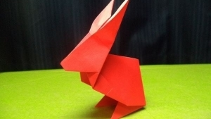 Ein Origami-Osterhase | Handwerk | Was is hier eigentlich los? | wihel.de