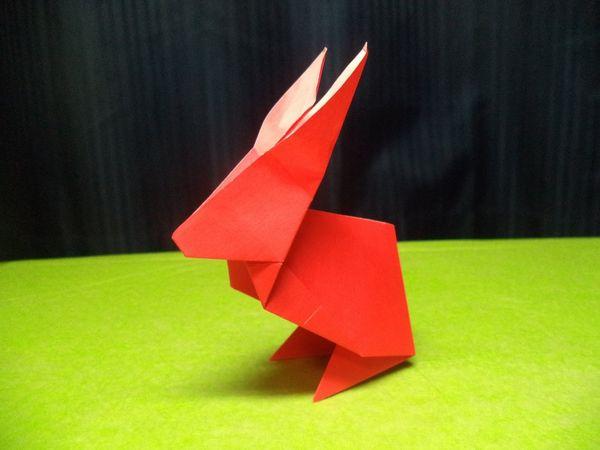 Ein Origami-Osterhase | Handwerk | Was is hier eigentlich los?