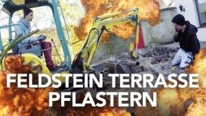 Fynn Kliemann und seine Terasse aus Naturstein | Handwerk | Was is hier eigentlich los? | wihel.de