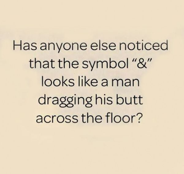 Was das &-Symbol eigentlich ist | Lustiges | Was is hier eigentlich los?