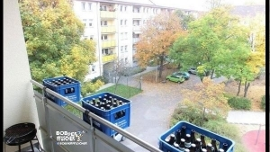 Balkon-Bepflanzung - Männerstyle | Lustiges | Was is hier eigentlich los? | wihel.de