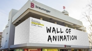 Die Wall of Animation beim Internationalen Trickfilm-Festival am Breuninger-Haus in Stuttgart | sponsored Posts | Was is hier eigentlich los? | wihel.de