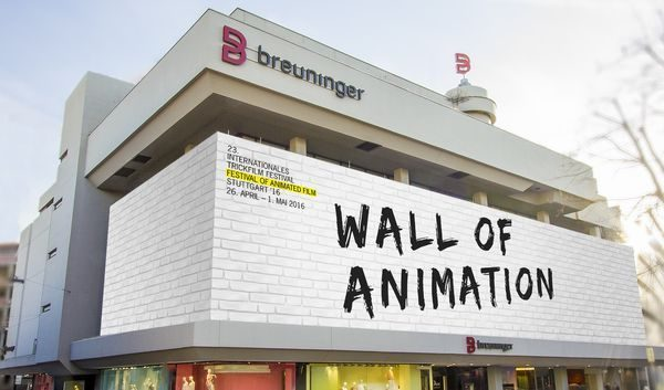 Die Wall of Animation beim Internationalen Trickfilm-Festival am Breuninger-Haus in Stuttgart | sponsored Posts | Was is hier eigentlich los?