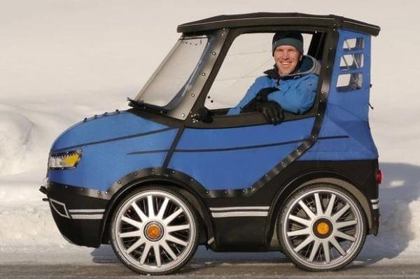Für alle, die ein Fahrrad brauchen, aber ein Auto wollen: der PodRide von Mikael Kjellman | Gadgets | Was is hier eigentlich los?