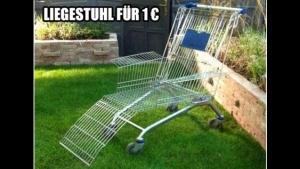 Liegestuhl für den Sommer? Gibt es schon für 1€ | Lustiges | Was is hier eigentlich los? | wihel.de