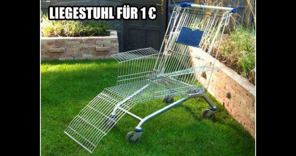 Liegestuhl für den Sommer? Gibt es schon für 1€ | Lustiges | Was is hier eigentlich los?