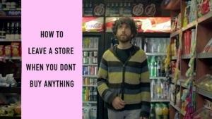 Lifehack: Laden verlassen, ohne zu kaufen | Lustiges | Was is hier eigentlich los? | wihel.de