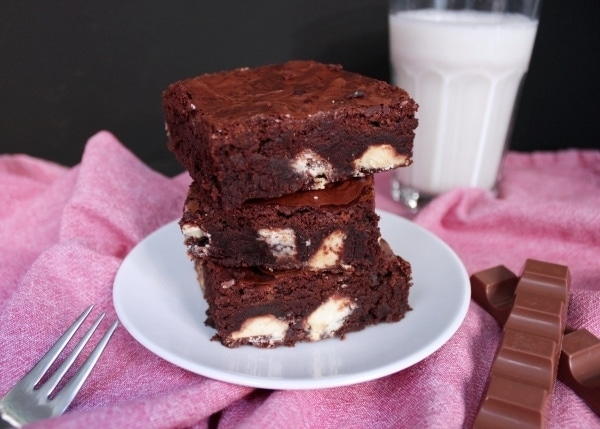 Line backt Brownies mit Kinderschokolade | Line backt | Was is hier eigentlich los?