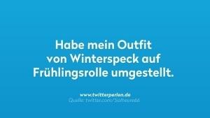 Outfitwechsel zum Frühlingsanfang | Lustiges | Was is hier eigentlich los? | wihel.de