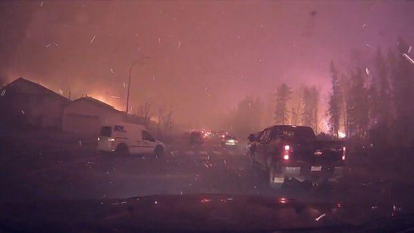 Die Hölle auf Erden: Bilder aus Fort McMurray, Kanada   WTF   Was is hier eigentlich los?