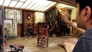 Ein Mini-Foto-Studio von 1900 - Gebaut von Ali Alamedy | Awesome | Was is hier eigentlich los? | wihel.de