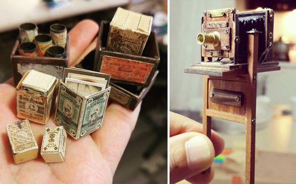 Ein Mini-Foto-Studio von 1900 - Gebaut von Ali Alamedy | Awesome | Was is hier eigentlich los?
