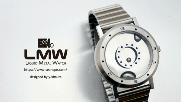 Eine Uhr mit Flüssigmetall - Liquid Metal Watch   Gadgets   Was is hier eigentlich los?