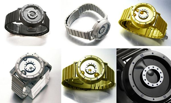 Eine Uhr mit Flüssigmetall - Liquid Metal Watch | Gadgets | Was is hier eigentlich los?