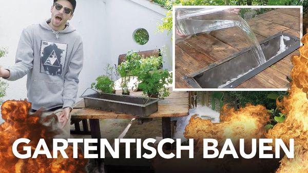 Heimwerkerchemiker Kliemann bastelt sich einen Gartentisch   Handwerk   Was is hier eigentlich los?