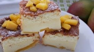 Line backt sommerlichen Magic Cake mit Mango und weißer Schokolade | Line backt | Was is hier eigentlich los? | wihel.de