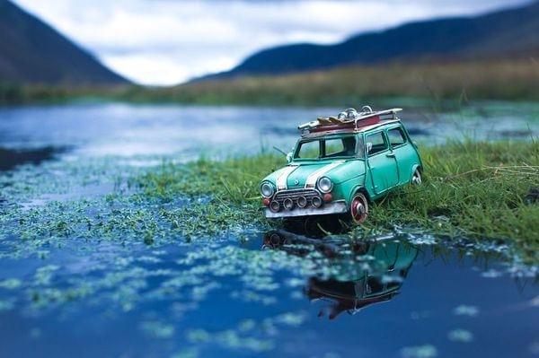 Mit kleinen Autos um die große Welt - Tolle Fotos von Kim Leuenberger | Fotografie | Was is hier eigentlich los?
