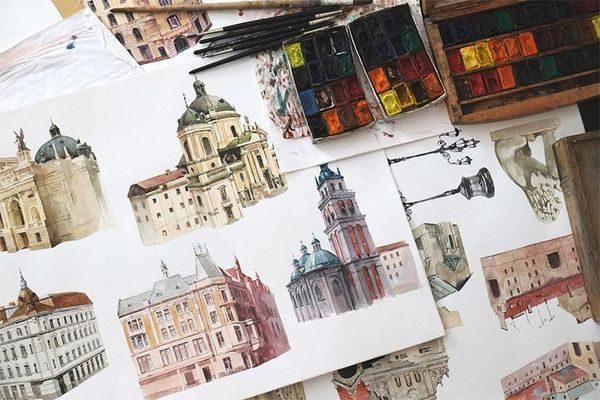 Print-Malerei von Dmitry Ligay | Design/Kunst | Was is hier eigentlich los?