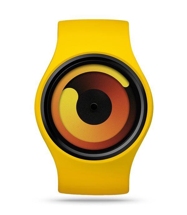 Stylische Uhr ohne Ziffern: Die GRAVITY Banana   Gadgets   Was is hier eigentlich los?