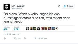 Alkohol und die Auswirkungen auf das Kurzzeitgedächtnis | Lustiges | Was is hier eigentlich los? | wihel.de