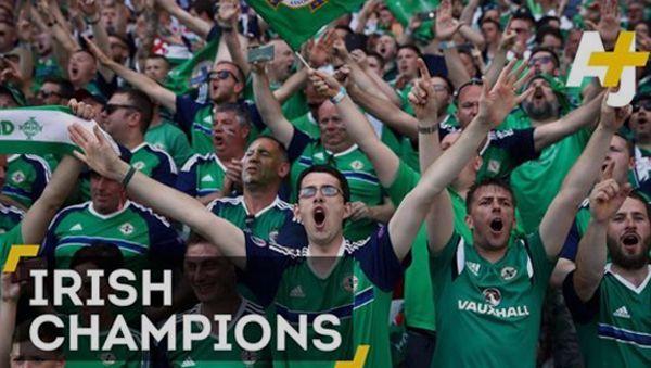 Die Iren haben offenbar die besten Fans der Welt