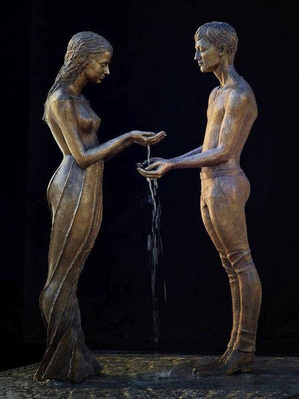 Fontaines - Starke Springbrunnen von Malgorzata Chodakowska | Design/Kunst | Was is hier eigentlich los?