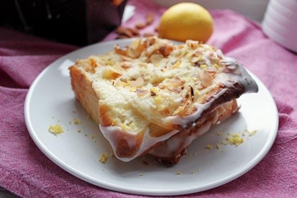 Line backt Pull-Apart-Bread mit Zitronenbutter und Mandeln | Line backt | Was is hier eigentlich los?