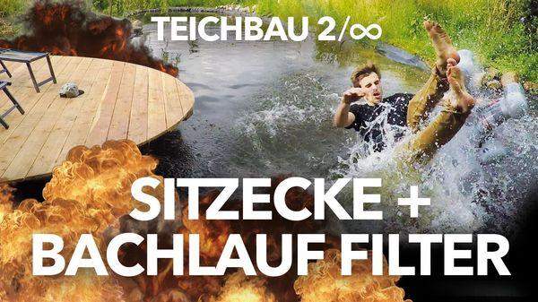 Moses-Biologe Fynn Kliemann pimpt seinen Teich | Handwerk | Was is hier eigentlich los?