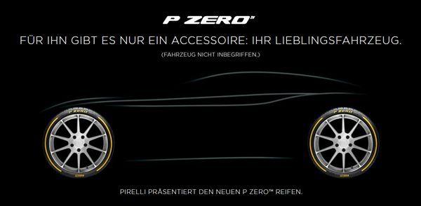 Pirelli präsentiert den neuen P ZERO - Ein bisschen Formel 1 für jeden