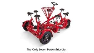 Single-Börsen-Alternative: Das 7-Personen-Tricycle | Gadgets | Was is hier eigentlich los? | wihel.de