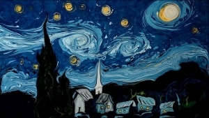 Van Gogh on Dark Water | Design/Kunst | Was is hier eigentlich los? | wihel.de