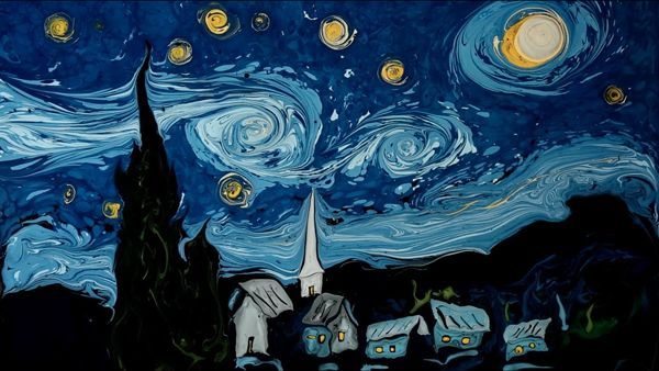 Van Gogh on Dark Water | Design/Kunst | Was is hier eigentlich los?